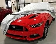 Fleeced Satin Covercraft Custom Fit Car Cover for Select Ford Mustang Models FS16649F5 Black