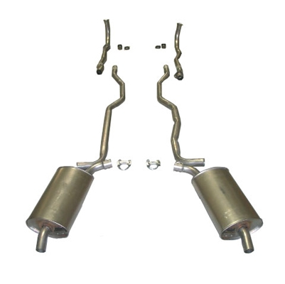 C1 Corvette Exhaust Systems