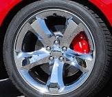 Chrysler Caliper Covers by MGP