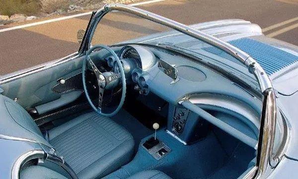 1958-1962 Corvette Clock Knob