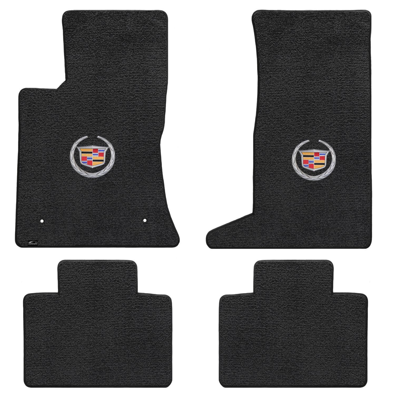 Lloyd Mats ULTIMAT 4 Piece Floor Mat Set Ebony 2011-2016 Regal w// Shield Logo