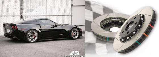 C6 Corvette Z06 and GS Exterior Track Package Stage 1