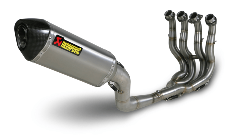 Suzuki GSX-R 600 and 750 Racing Akrapovic Exhaust and Headers