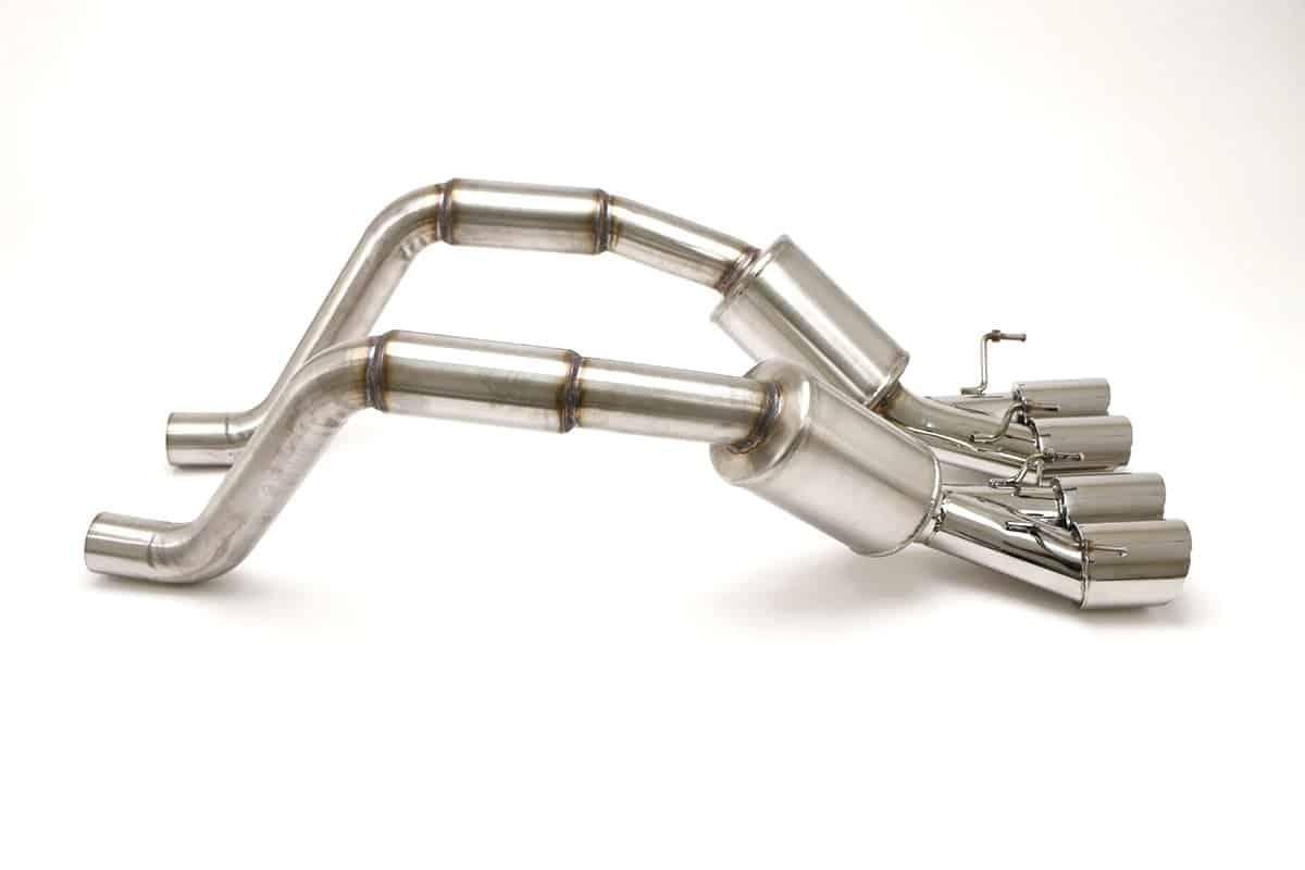 C6 Corvette Exhaust Parts, Systems & Plates