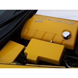 c6 corvette painted fuse box cover southerncarparts com rh southerncarparts com