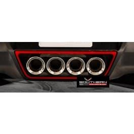 2014-2019 C7 Corvette Painted Exhaust Tips Trim Ring
