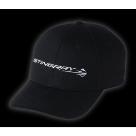 C7 Corvette Stingray Gesture Logo Base Ball CAP HAT