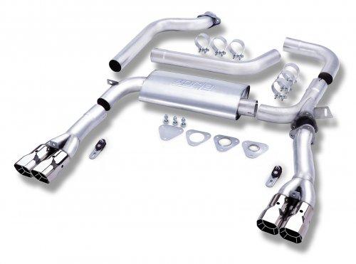 """Borla Camaro Stainless Steel Cat-Back 3"""" Adj System (93-95) 1446"""