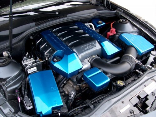 5th Gen Camaro Painted Complete Engine Kit ...
