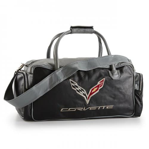 C7 Corvette Black and Grey Duffel Bag - SouthernCarParts.com 0aab8088f5