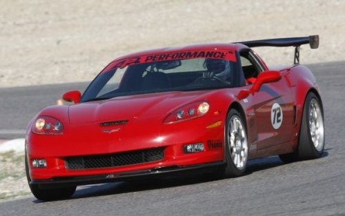 C6 Corvette /Z06 GTC-500 Adjustable Wing