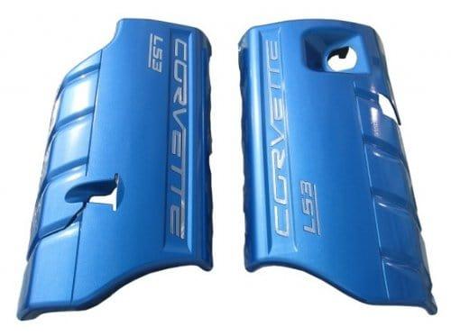 C6 Corvette LS3 Painted Fuel Rail Covers