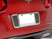 C6 2005-2013 Corvette Stainless License Plate Frame