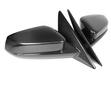 2010-2014 Ford Mustang APR Carbon Fiber Replacement Mirrors