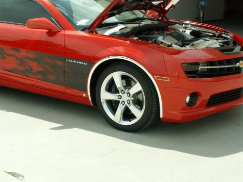 2010-2015 Camaro Chrome and Vinyl Wheel Well Molds