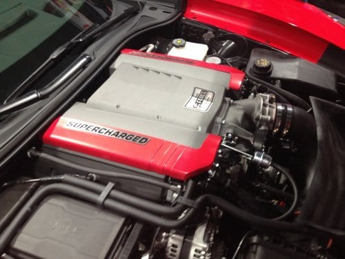 2014-2019 C7 Corvette Stingray Edelbrock Supercharger Stage 2 (Track Kit)