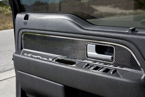 2010 2014 ford raptor f 150 carbon fiber front door - 2013 ford f 150 interior accessories ...