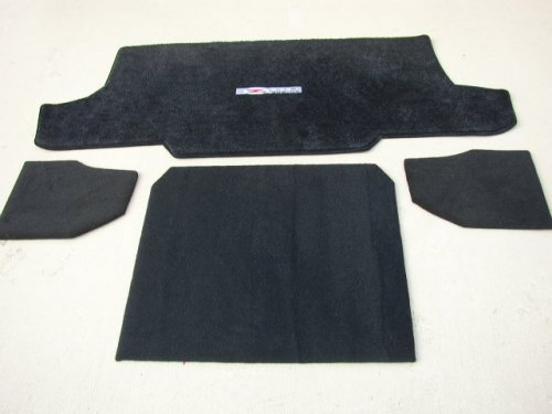 Corvette C5 FRC-Z06 Partition Modified Cargo Mat and Compartment Covers