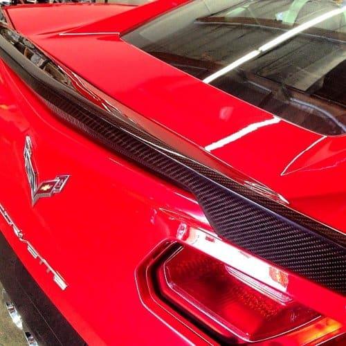 2014-2019 C7 Corvette Stingray APR Real Carbon Fiber Rear Deck Spoiler