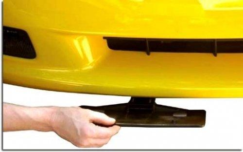 "C5 Corvette ""Remote Control"" Show/Go License Plate Frame"