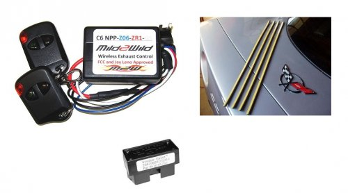 C6 Corvette window Valet, Taillight Seals, Z06 Mild to Wild Switch