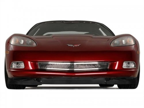 C6 Corvette All Stainless Diamond Laser Cut Mesh Grille