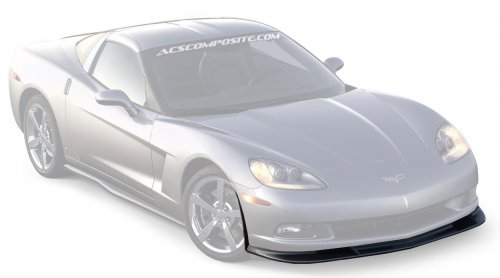 C6 Corvette ACS Zero6 Splitter 27-4-038