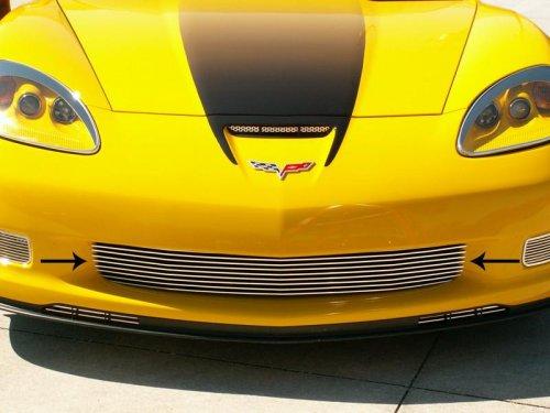 C6 Corvette Z06-Grand Sport Polished Aluminum Billet Grille