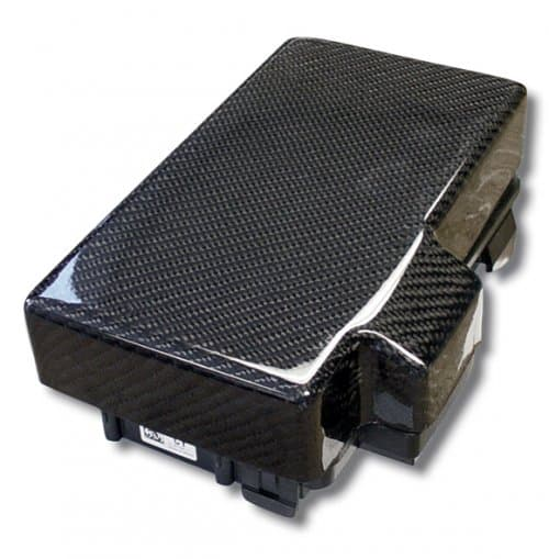 corvette carbon fiber fuse box cover