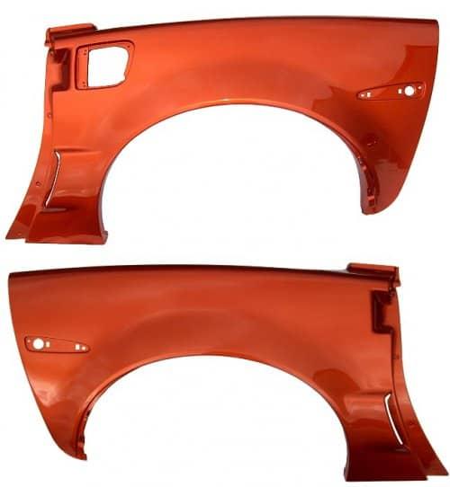 C6 Corvette Body Color Painted Z06 Rear Quarter Panels For Coupe or Convertible