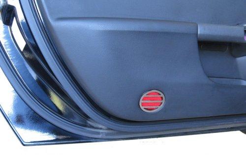C6 2005-2013 Corvette Interior Door Reflector Covers Pair