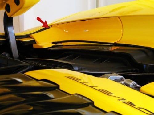 2014-2019 C7 Corvette Painted Inner Fender Covers