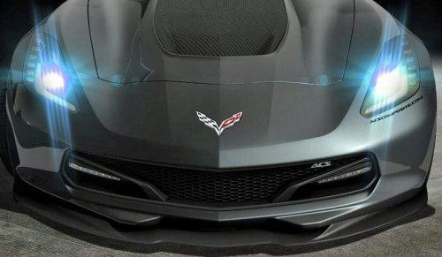 2014-2019 C7 Corvette Stingray ACS Five1 Front Grille