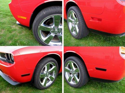 2008-2014 Dodge Challenger Acrylic Side Marker Blackout Kit