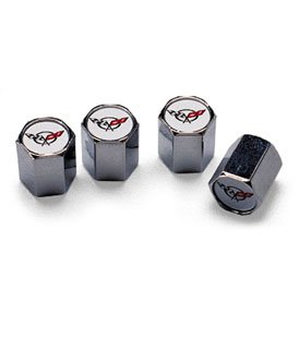C5 Corvette Valve Stem Cap Set