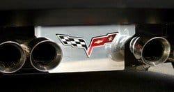 C6 2005-2013 Corvette Stainless Steel Exhaust Plate
