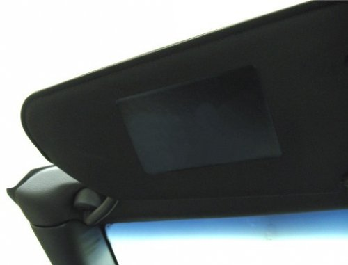 C6 2005-2013 Corvette Visor Decals - Plain