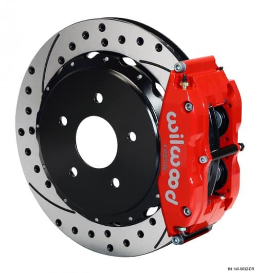 C6 Corvette Wilwood Rear Big Brake Kit