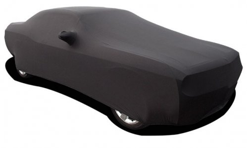 2008 2017 Challenger Black Onyx Satin Stretch Indoor Car Cover