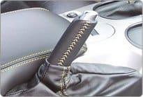 C6 Corvette Leather E-Brake Handle