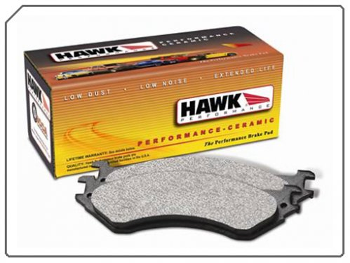 C5 and C6 Corvette Brake Pads Hawk Ceramic