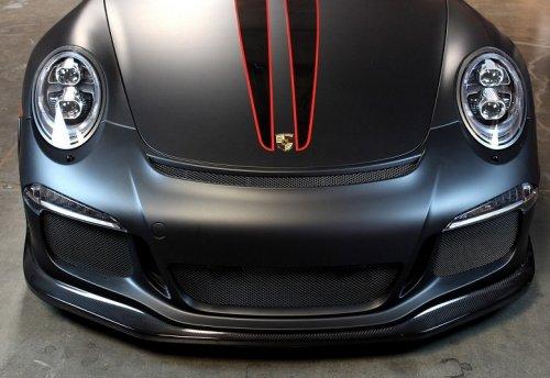 Porsche GT3 APR Performance Carbon Fiber Front Air Dam Splitter