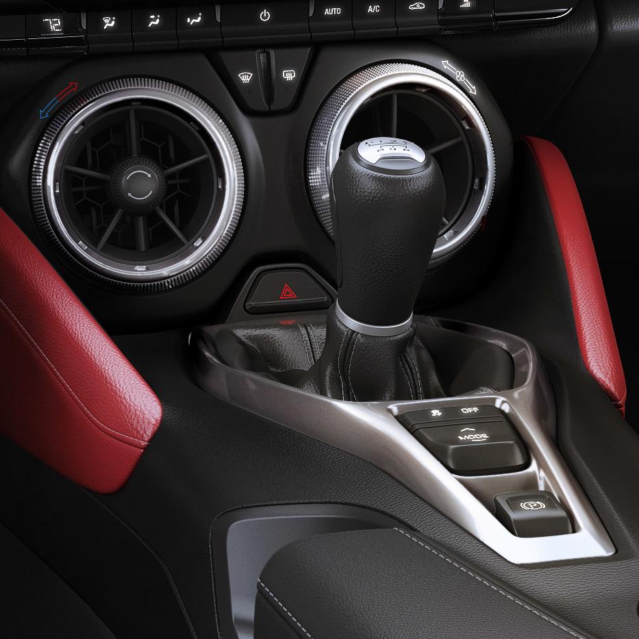 2016-2018 Camaro Interior Pad Trim Kit - SouthernCarParts.com