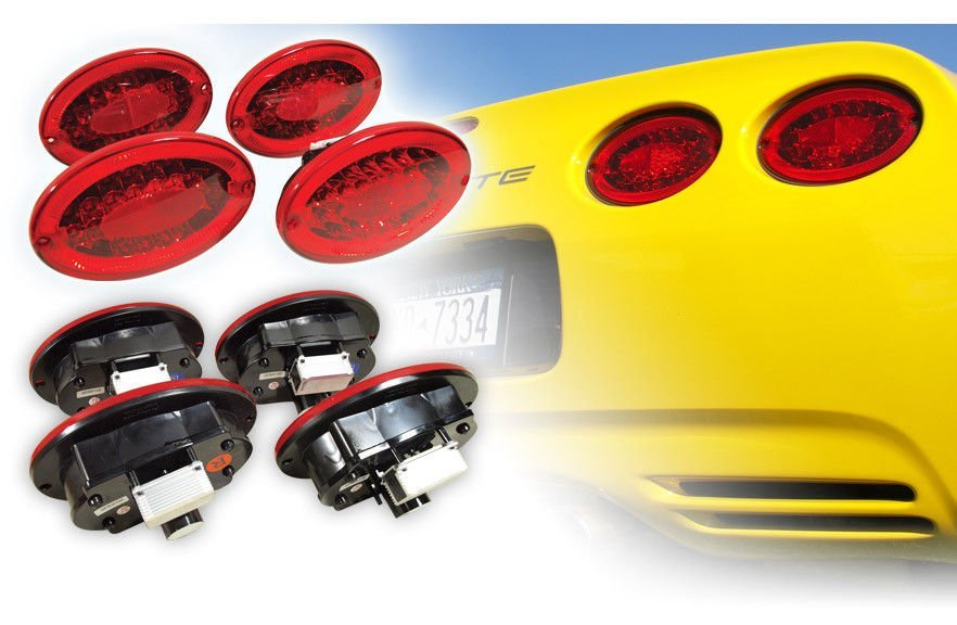 C5 Corvette 1997-2004 Rearview Mirror LED Set