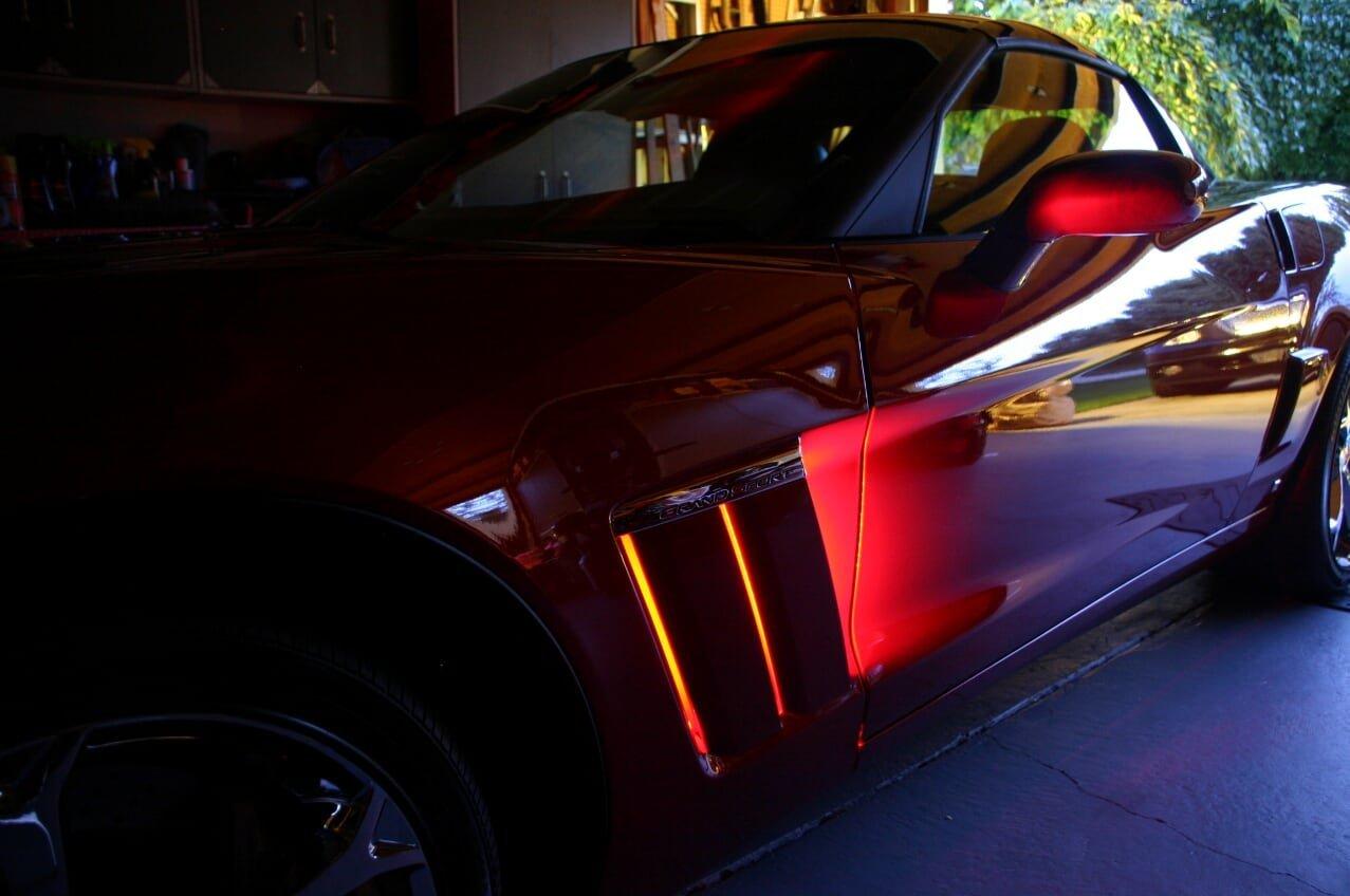 2005-2013 C6 Corvette Grand Sport Color Changing LED Fender Cove Lighting  Kit