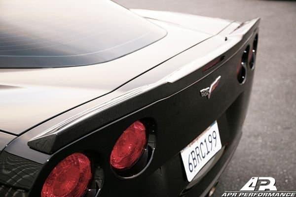 C6 Corvette Carbon Fiber Rear Spoiler Southerncarparts Com