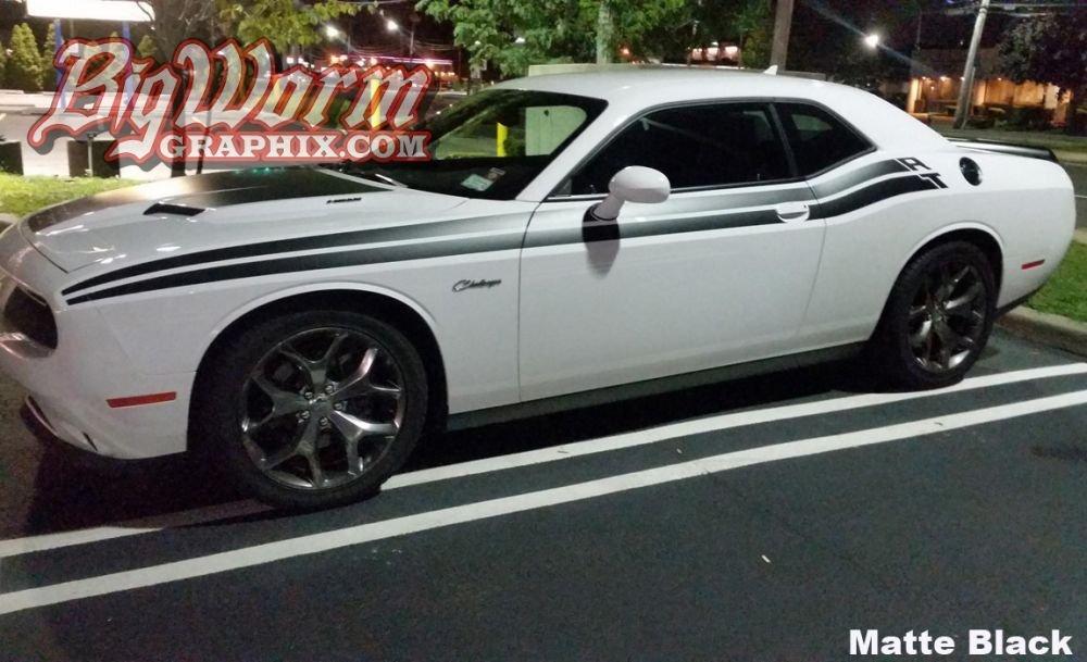 Dodge Challenger R T Side Stripe Kit D