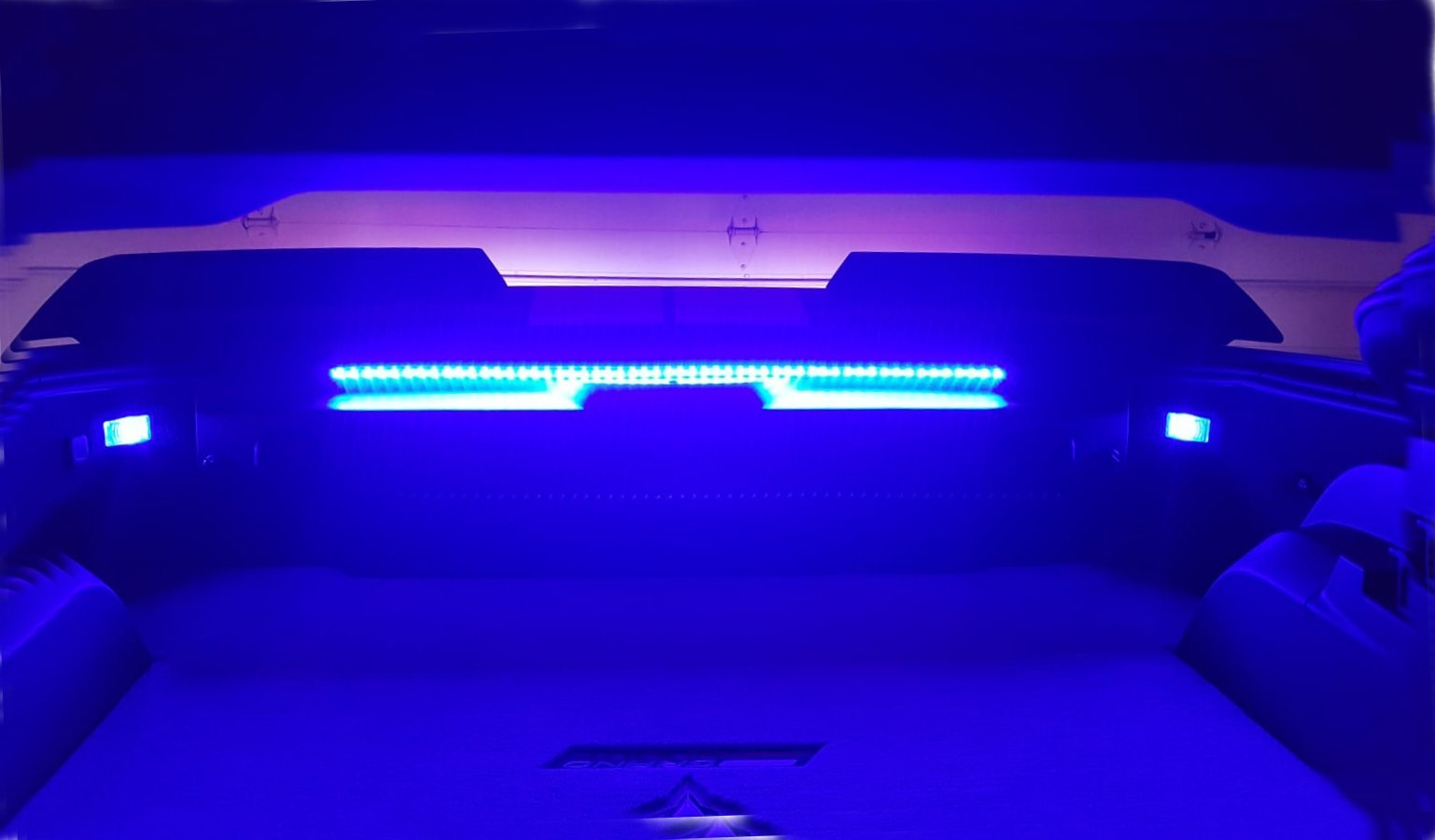 C7 Corvette Led Trunk Compartment Hatch Strips Lighting