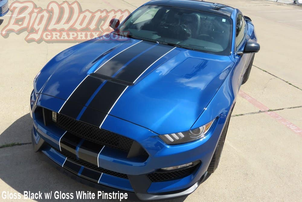 mustang gt  twin full length stripes kit southerncarpartscom