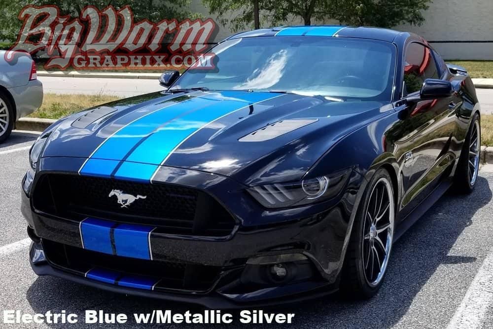 mustang stripes kit narrow length stripe twin dual ford matte 1001 catalog rpidesigns
